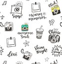 Sample Backdrop White Camera