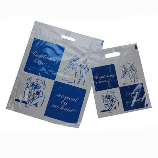 Tyndell Plastic Delivery Handle Bag