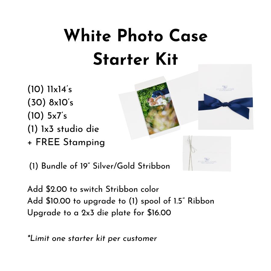 White Photo Case Starter Kit