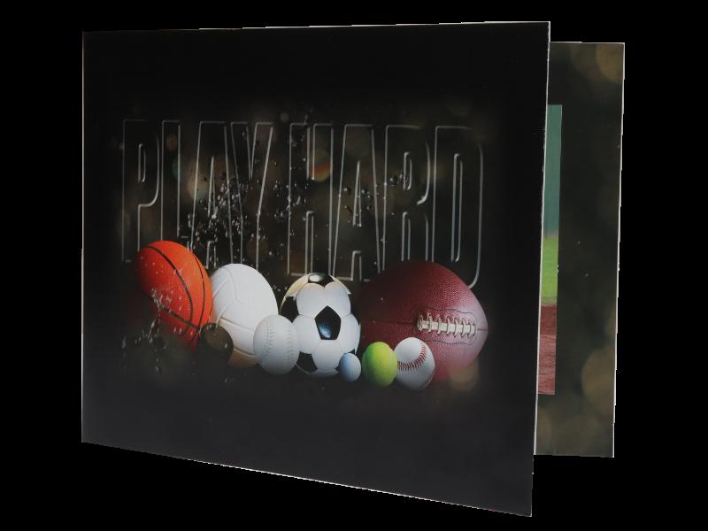 Playhard Sports Folder