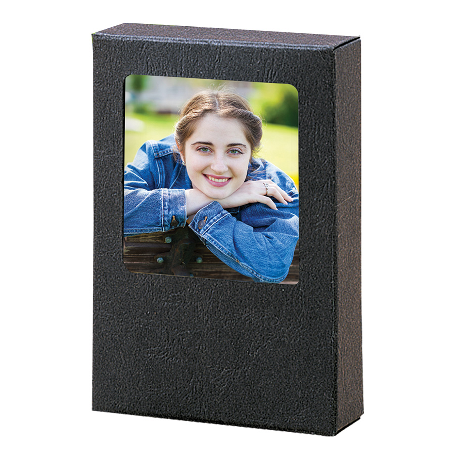 Black Wallet Box