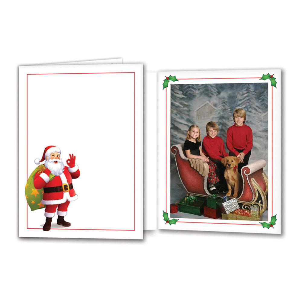 Profit Line Santa Folder