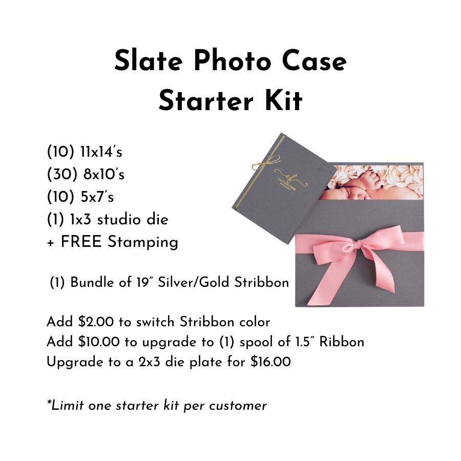 Slate Photo Case Starter Kit