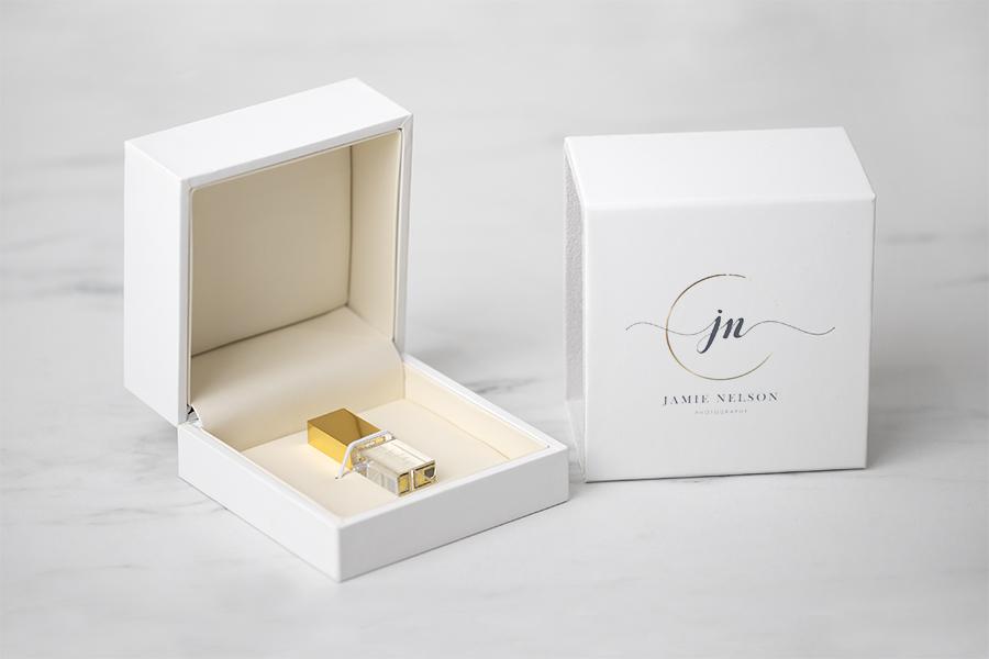 White USB Box