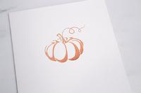 Pumpkin Folders