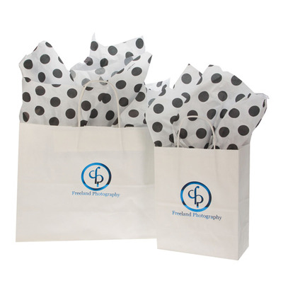 White Shopper Bag Thumbnail