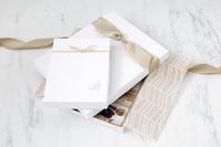 White Portrait Box