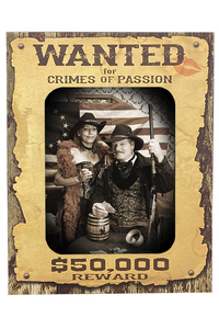 Wanted Poster Crimes of Passion