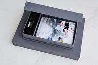 flash and print box for USB and prints