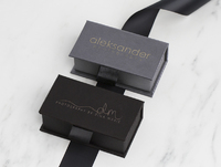 Fabric USB Box - Black Thumbnail