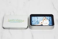 Credit Card Flash Drive and Metal Tin Box