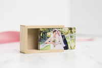 USB Slide Box - Wood Thumbnail