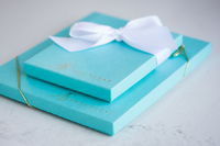 robin egg blue deluxe portrait box