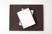 matte chocolate portrait box