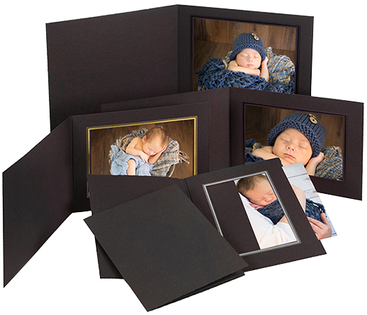 Portrait Folders and Mounts